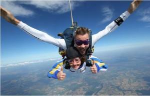 Fallschirm Tandemsprung, Was soll man zur Hochzeit schenken