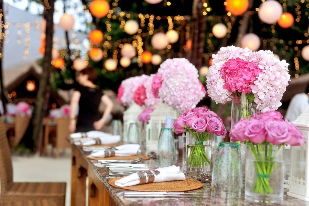 Hochzeitsdeko, Hochzeitsideen